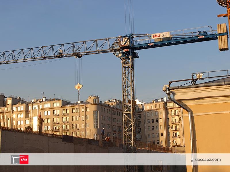 Cranes Sáez - Flap-Top - TL 55