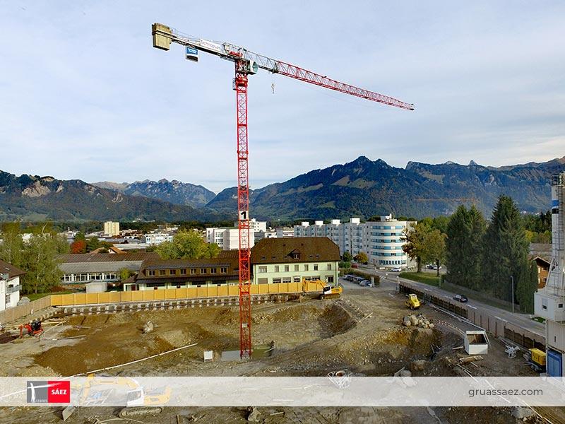 Cranes Sáez - Flap-Top - TL 60 8T
