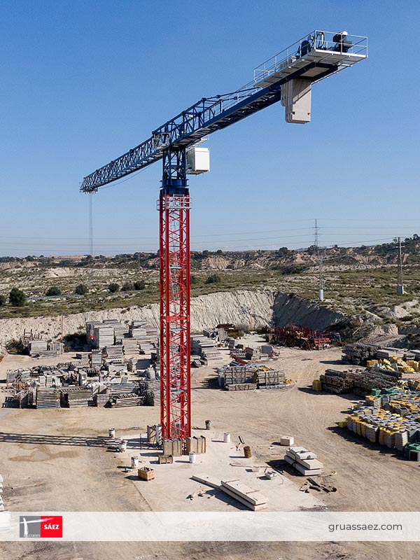 Cranes Sáez - Flap-Top - TL 80 24T - TL 80 32T