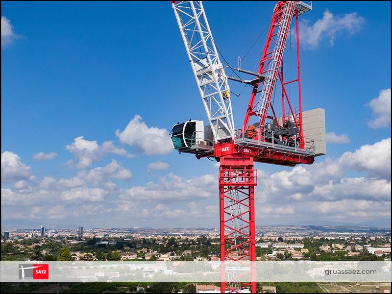Cranes Sáez - Luffing Jib - SL 450R