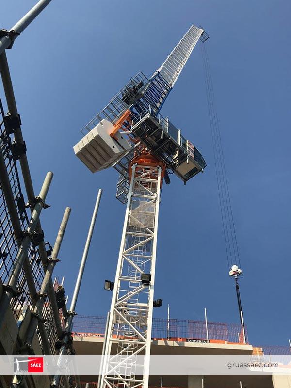 Cranes Sáez - Luffing Jib - SLH 110