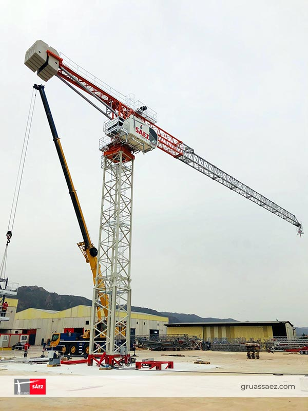 Cranes Sáez - Luffing Jib - SLH 190