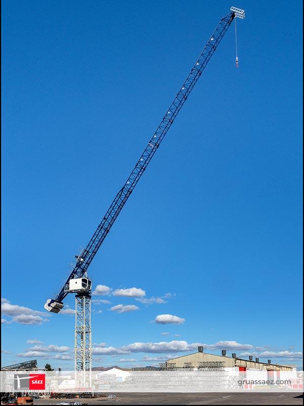 Cranes Sáez - Luffing Jib - SLH 205