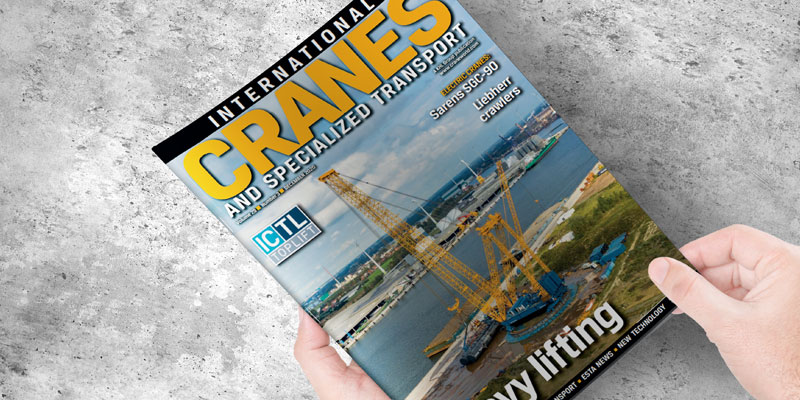 Grúas Sáez presente en International Cranes