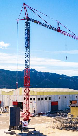 Self-Erecting HT47: The new self-erecting telescopic crane by Sáez Cranes