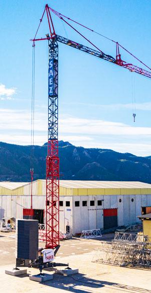 Presentamos la nueva grúa automontante hidráulica telescópica de Grúas Sáez