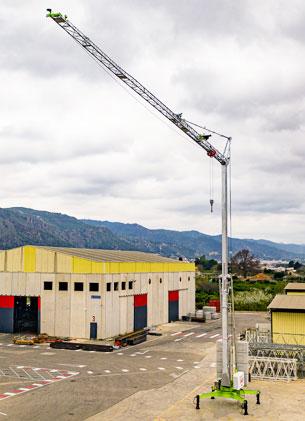 Sáez Cranes launches the new H26 self-erecting crane
